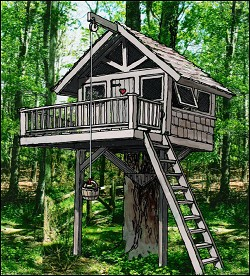 Treehouse amp Playhouse Design Custom Your