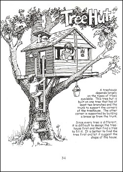 Treehouses Huts And Forts Book